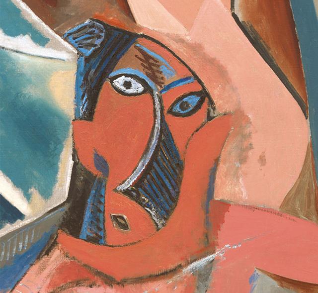 """""""Les Demoiselles d'Avignon"""" (detail) by Pablo Picasso"""