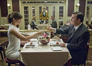 LIE TO ME, BABY Gervais shields Garner from the awful truth in his subversive, fantastical comedy.