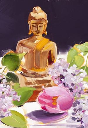 "KATE LONGMAID - ""Lilac Blossoms"""