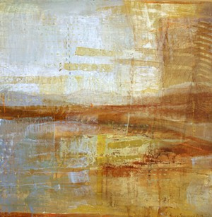 "COURTESY OF EDGEWATER GALLERY - ""Linger"" by Helen Shulman"