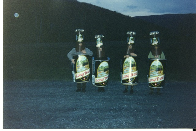 Living, walking, breathing brews, 1990s. - COURTESY OF LONG TRAIL BREWING COMPANY