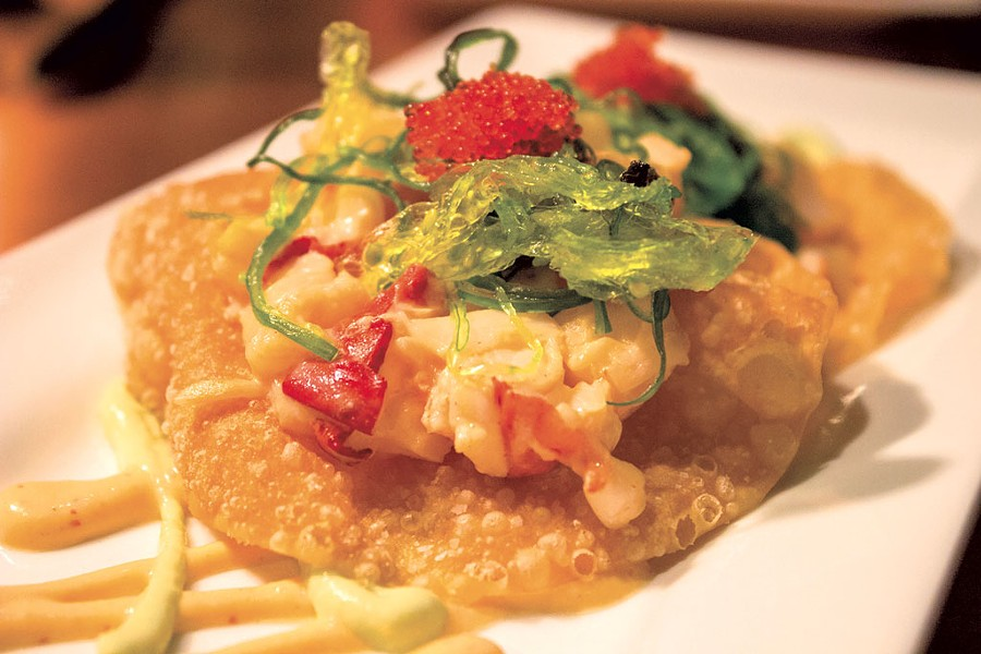 Lobster nachos at the Daily Planet - COURTESY OF DAILY PLANET