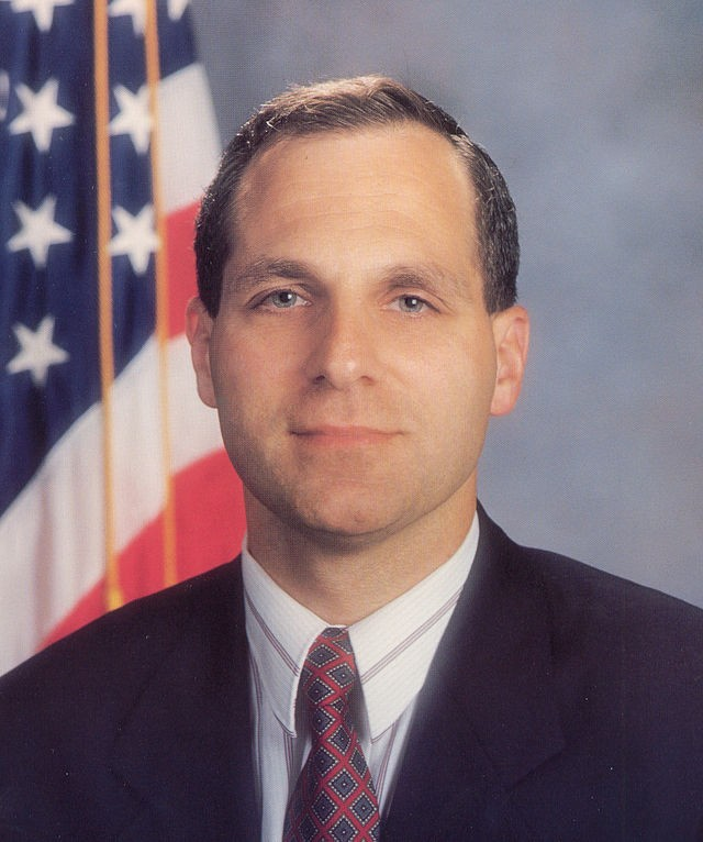 Louis Freeh's official portrait as FBI director - COURTESY: FBI