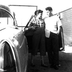 Lucille Barrett Jarvis and Merrill Jarvis II in 1954