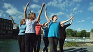 "Burlington Dancers Join Global ""Movement Choir"" Advocating for Access to Clean Water"