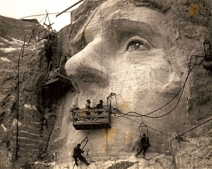 The Story of Lou Del Bianco and Mount Rushmore
