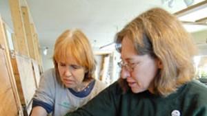 Lynette Courtney and Carol Schminke