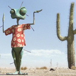 MANIC MIMIC Rango struggles to blend into a desert of the surreal.