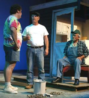 Marcel Freda, Michael Manion and Bob Carmody in The Drawer Boy