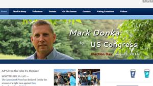Mark Donka's campaign website