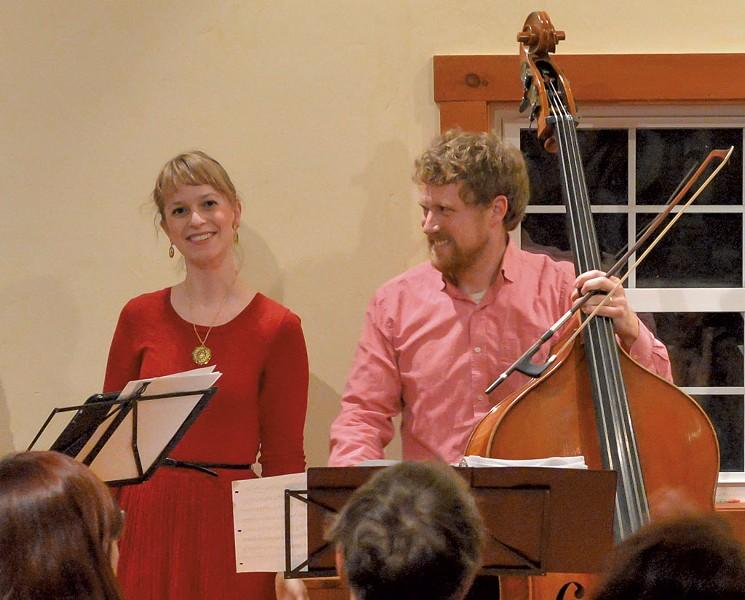 Mary Bonhag and Evan Premo - COURTESY OF ROBERT SPRING