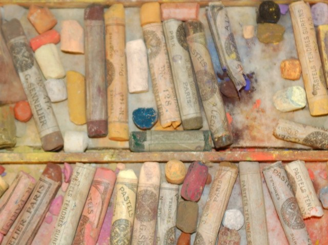 Mary Cassatt's pastels - COURTESY OF SHELBURNE CRAFT SCHOOL
