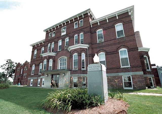 Mary Fletcher Hospital - COURTESY OF UNIVERSITY OF VERMONT MEDICAL CENTER