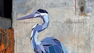 Moran Plant Artist-in-Residence Mary Lacy Puts Wildlife on the Walls