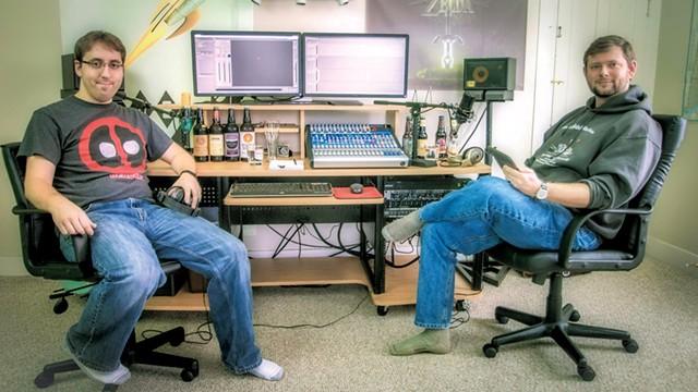 Matt Gadouas and Kris Jarrett - COURTESY OF  TWO BREWS