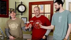 Matt Kehaya, Steve Gagner and Dan Sartwell