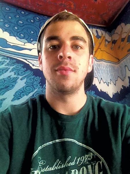 Matt Kiminski, a Junior at Champlain College