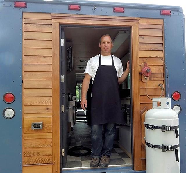 Matt Sargent in the Phantom Truck