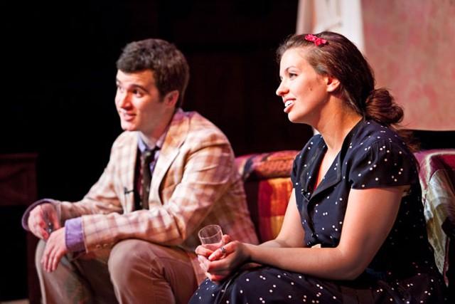 Matt Trollinger as Harry and Micaela Mendicino as Annabel