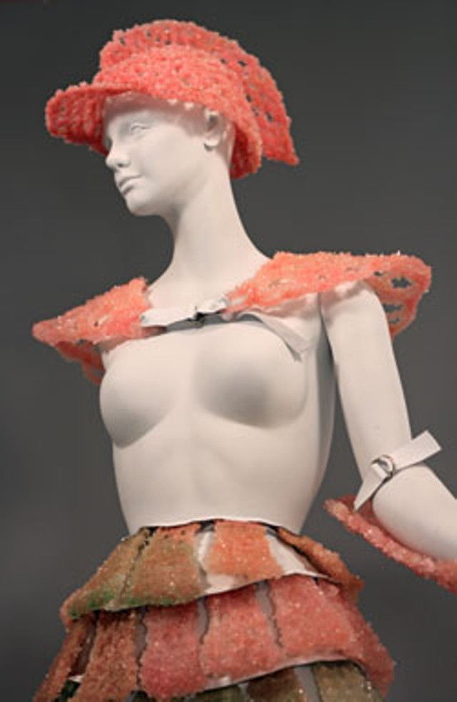 Melissa S. Armstrong's rock-candy armor