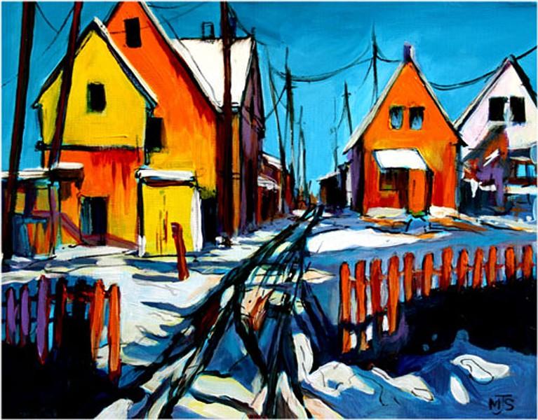 "Michael Strauss, ""Sunny Morning"""