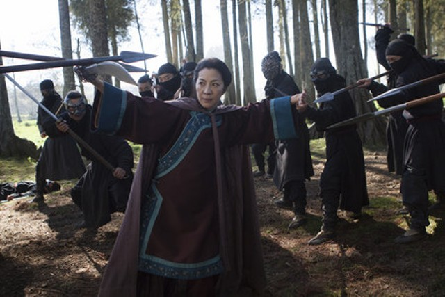 Michelle Yeoh in Crouching Tiger, Hidden Dragon II: The Green Destiny - THE WEINSTEIN COMPANY
