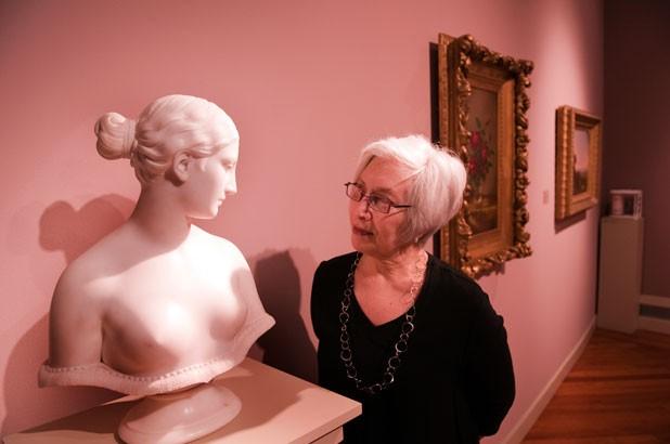 Middlebury College Museum of Art Curator Emmie Donadio