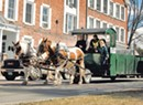 Middlebury's Latest Trash Haulers Are Equine