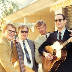 Mike Lussen, far right, with the Cumberland Singers, circa 1969
