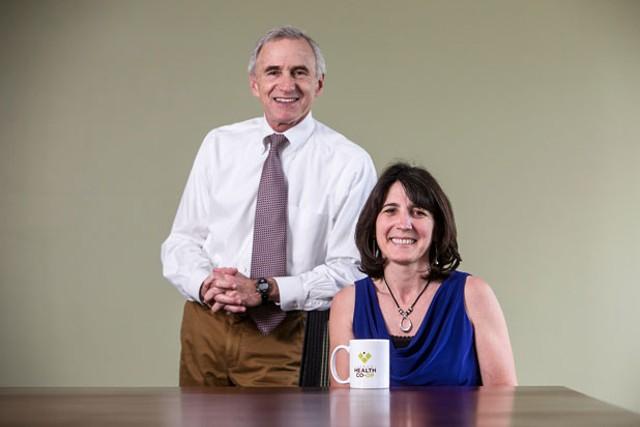 Mitchell Fleischer and Christine Oliver