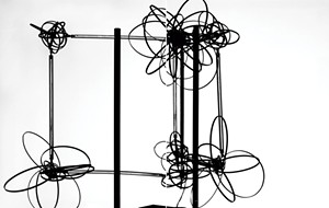 """""""Model of Hydrogen Atoms, Niels Bohr, early twentieth century"""" - COURTESY OF SCIENCE MUSEUM GROUP"""