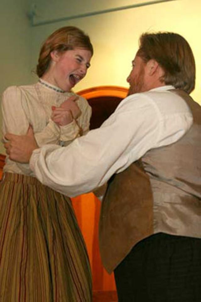 Molly Bombard and Jeff Tolbert