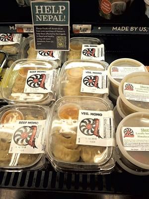 Momos at Healthy Living Market & Café - COURTESY OF SHERPA FOODS