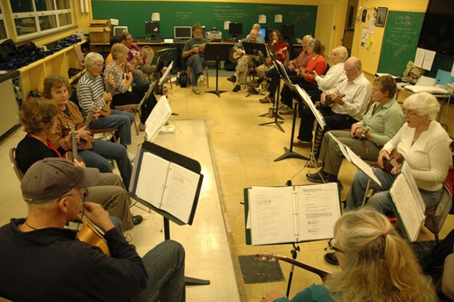 Montpelier ukulele group