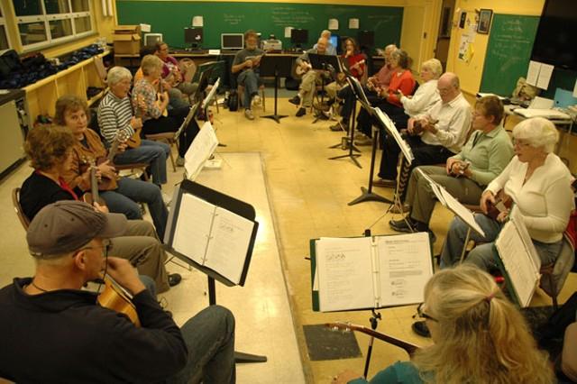 Montpelier ukulele group