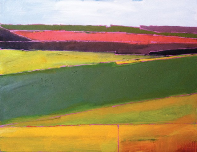 """""""Morse Farm Abstraction"""" by Frank Woods"""