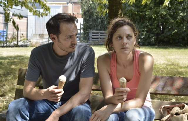 MOVIE OF THE BLEAK: Cotillard faces an ugly task to keep her family afloat in the Dardenne brothers' latest drama.