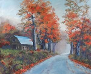 """MARCIA HILL - """"My Neighbor's Barn"""""""