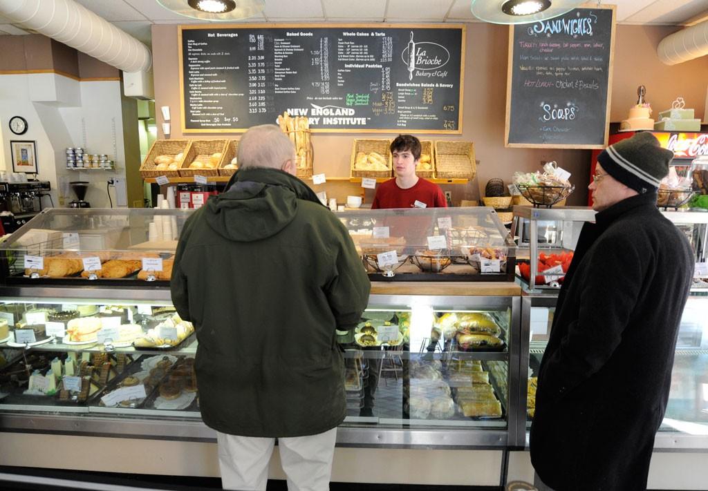 NECI's La Brioche in Montpelier - JEB WALLACE-BRODEUR