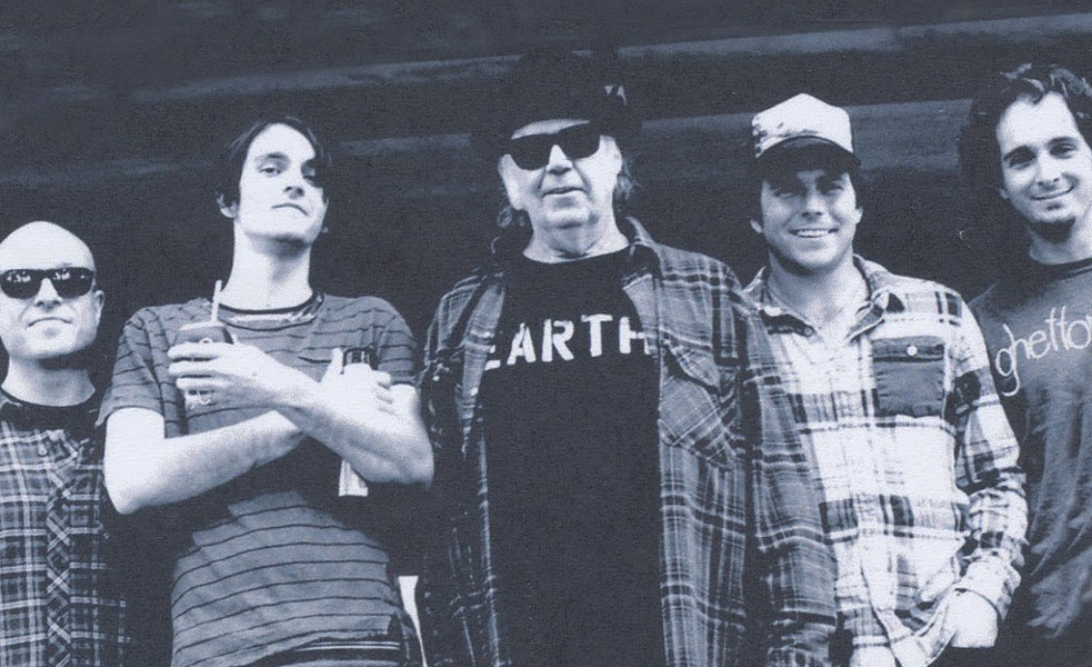 Neil Young Band - COURTESY OF  NEIL YOUNG