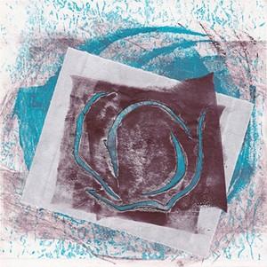 "COURTESY OF TWO RIVERS PRINTMAKING STUDIO - ""Nest Series #23"" by Carol Lippman"