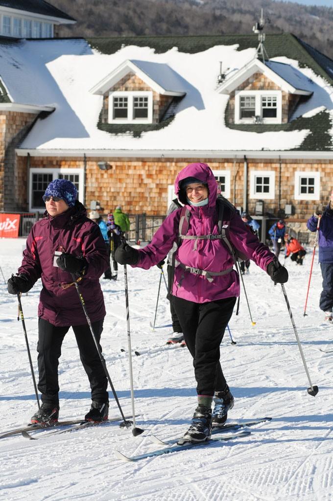 New England Women's XC Ski Day - COURTESY OF MATT TRUEHEART