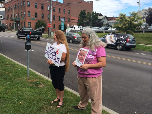 Agnes Clift, right, was one of the plaintiffs in the lawsuit brought against Burlington. - ALICIA FREESE