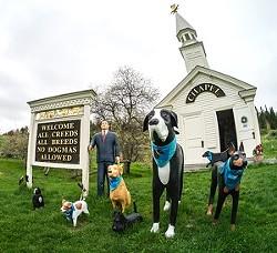 Dog Chapel, St. Johnsbury - COURTESY OF DOG MOUNTAIN