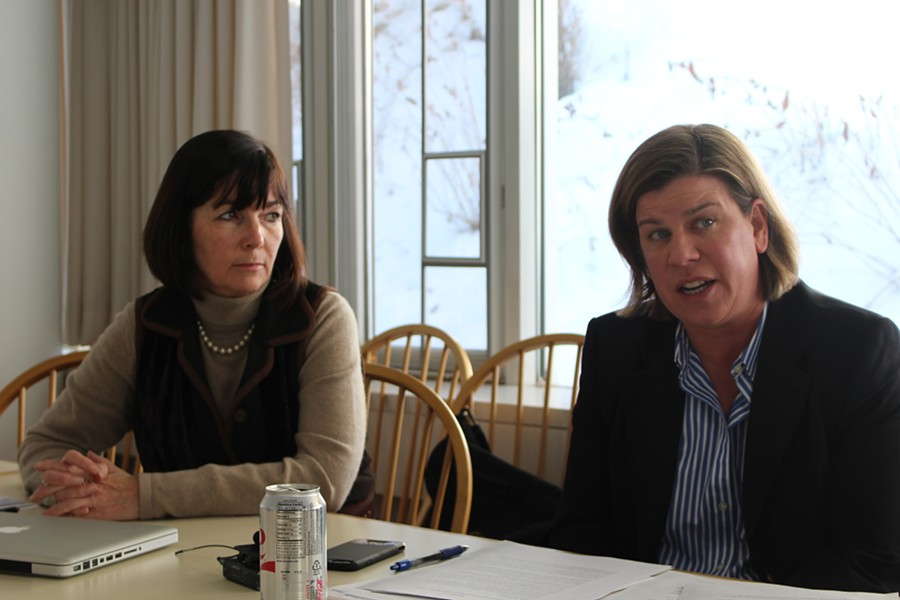 Reps. Patti Komline and Heidi Scheuermann - PAUL HEINTZ