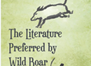 The First 50 Pages: <i>The Literature Preferred by Wild Boar</i>