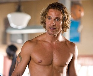 NO SHIRT! ?McConaughey ?shows off his ?bronzed assets in ?Andy Tennant's ?soggy romantic ?comedy.