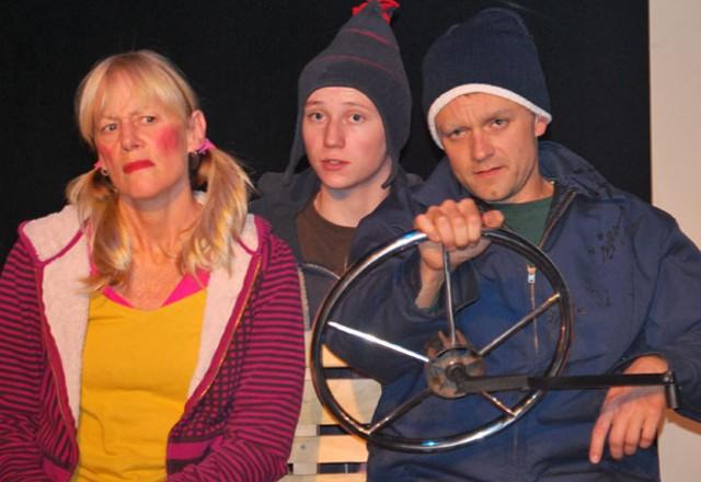 Noni Stuart, Tyler Ogden and Andrew Butterfield