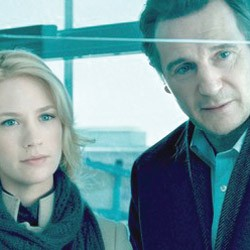 NOTHING TO DECLARE Neeson and Jones play a couple who appear to be as unpersonable as they are attractive in Collet-Serra's thriller.