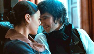 ODE NOT TAKEN Cornish and Whishaw get close — but never  too close — in Campion's  biopic about deferred desire.